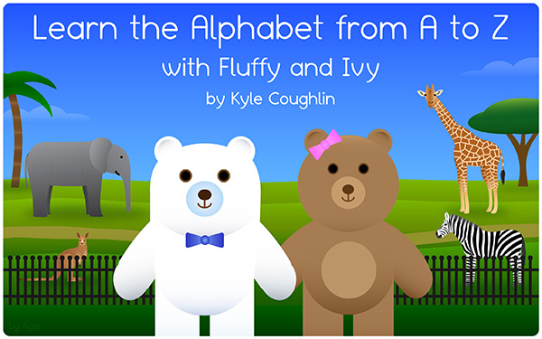 Buy Learn the Alphabet from A to Z with Fluffy and Ivy on Amazon