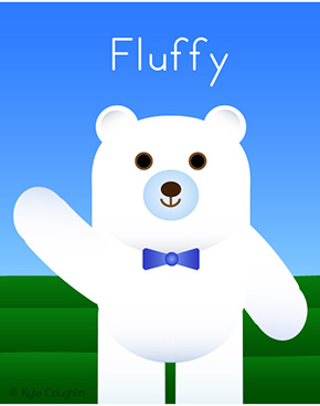 Fluffy the Bear
