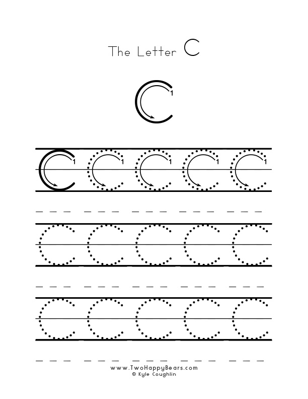 Learn The Letter C With Fluffy And Ivy